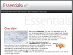 thumbnail of Essentials L.L.C. website